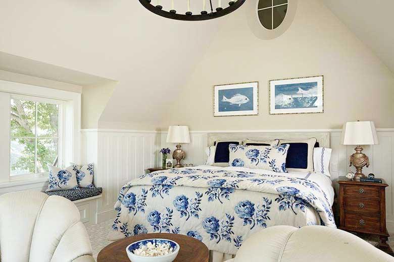 田园风阁楼卧室设计平面图
