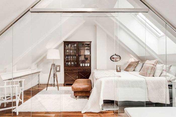 简约风阁楼卧室装修装饰图片
