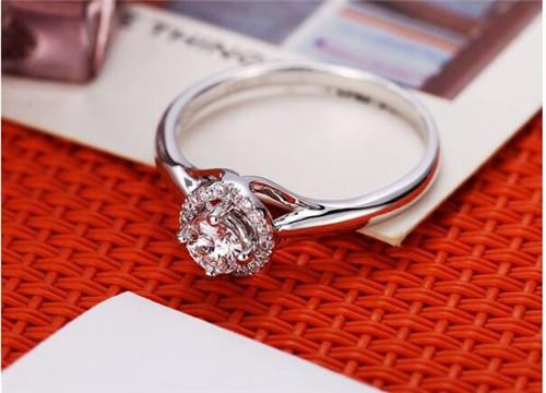 结婚戒指图片大全 结婚钻戒怎么选购图片