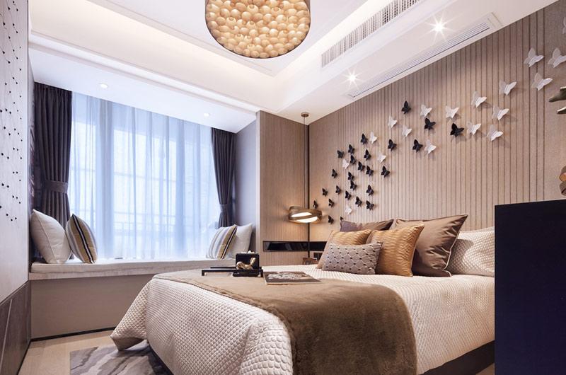 144平样板房装修卧室装修图