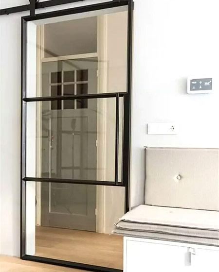 玻璃铁框门设计装修装饰