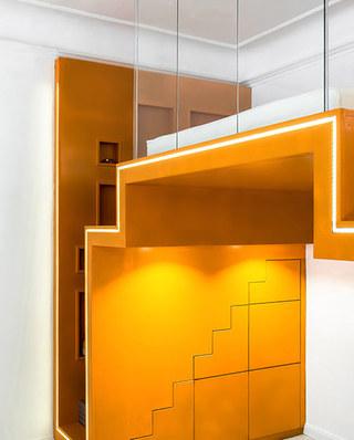 小户型loft公寓卧室地板图片