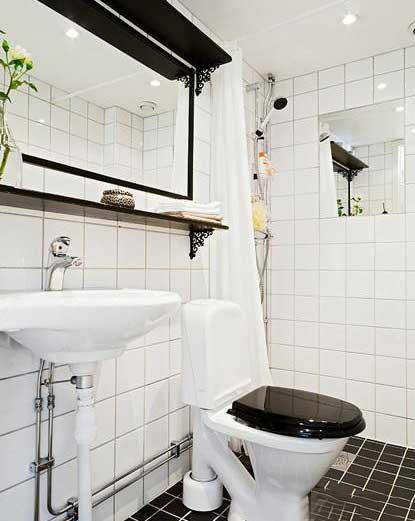 北欧风洗手台装修布置图