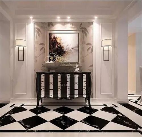 玄关地砖效果图 艺术地砖让玄关更时尚图片