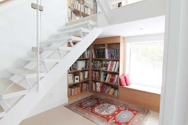 楼梯收纳设计平面图