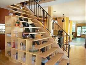 小空间大作用  10款楼梯收纳装修实景图