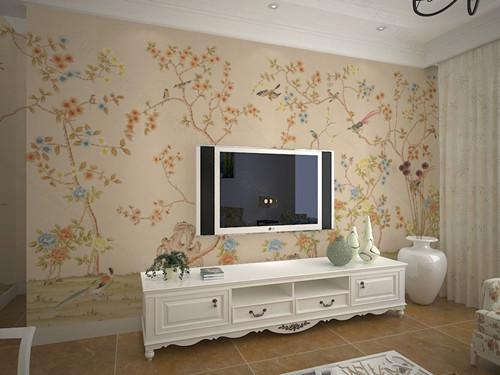 正文  要是大家嫌弃电视墙刷油漆太简单,又不想做太复杂的电视墙造型图片