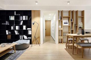 131平简约风格二居客厅效果图