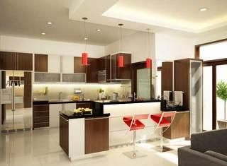 现代风格厨房参考图片