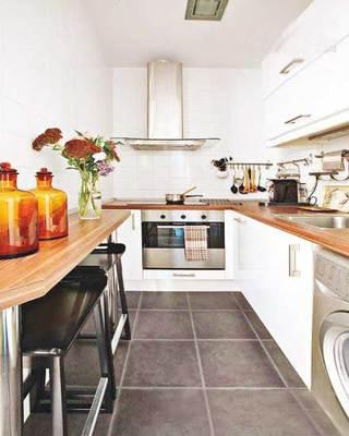 厨房造型吧台参考图