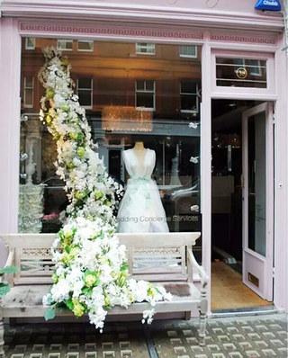 婚纱影楼橱窗设计装修效果图