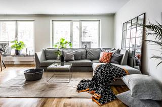 北欧风格二居室客厅效果图