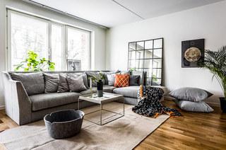 北欧风格二居室木地板图片