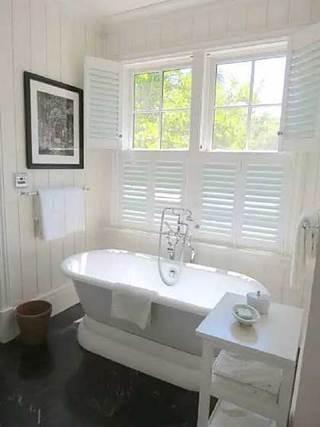 浴室百叶窗设计欣赏图