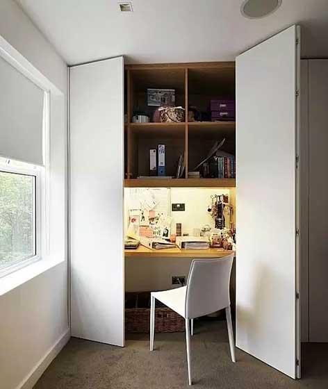 衣柜书房装修装饰效果图
