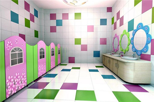 幼儿园卫生间装修效果图_幼儿园卫生间设计要求