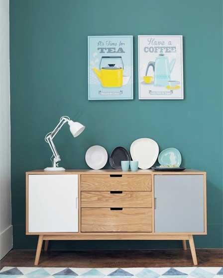 木质装饰立柜设计效果图