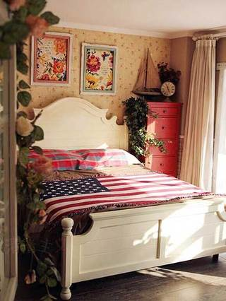 出租屋卧室布置欣赏图