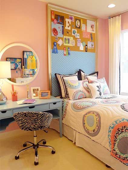 女生卧室设计实景图