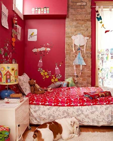 女生卧室装修装饰效果图
