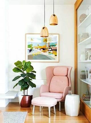 客厅植物摆件设计欣赏图
