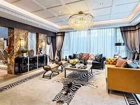 249平米复古风公寓效果图  博物馆之家