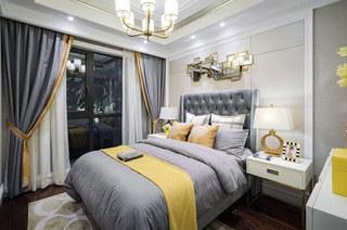 80平小三房装修主卧室装修