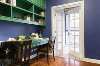 150平美式风格四居书房装潢装修