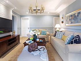 150平美式风格四房装修效果图 最美的风景