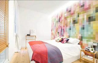 75平小户型二居卧室装修图