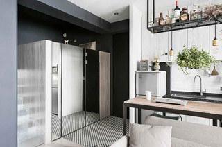 30平小户型单身公寓装修 精致的女子公寓2/10