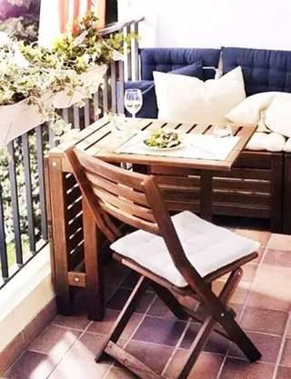 休闲阳台沙发设计图
