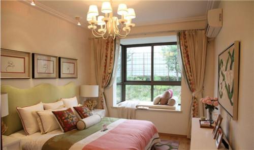 房间飘窗效果图 如此高大上的卧室飘窗设计
