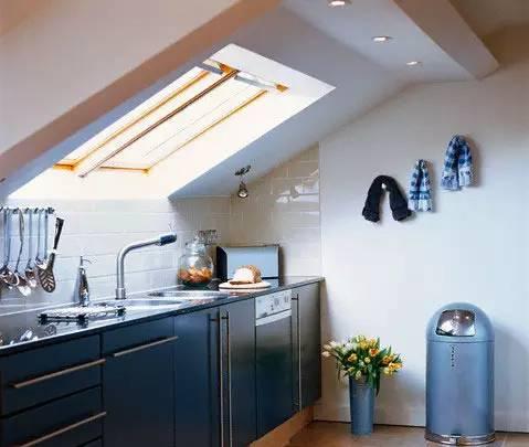 阁楼厨房装修效果图 顶层阁楼能做厨房吗