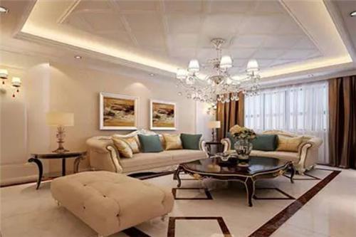 70平米两室一厅装修效果图四 欧式风格图片