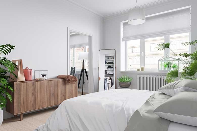 二居室卧室设计构造图