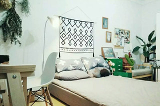 25平小户型一居卧室设计图
