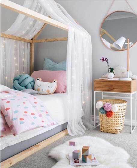 甜美儿童房装修装饰效果图