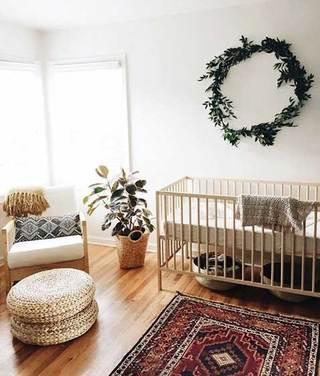 甜美儿童房沙发设计平面图