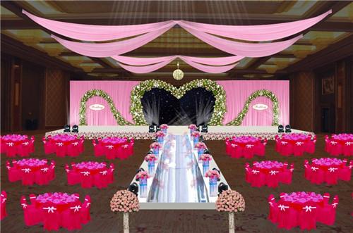 婚庆舞台布置效果图 婚礼舞台布置应注意什么