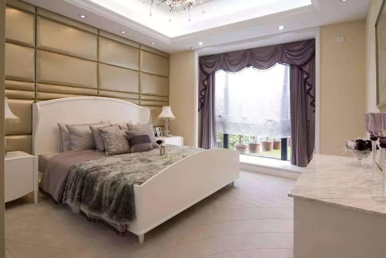 欧式装修样板房 欧式奢华浪漫样板房设计案例图片