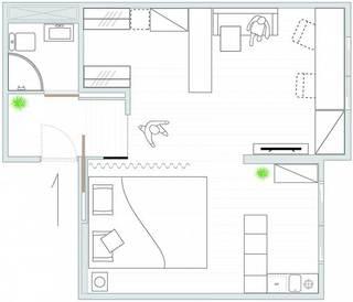 旧房改造设计平面图