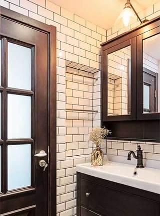 卫生间干湿分离洗手池图片