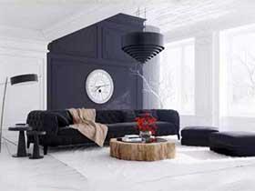 家背后的光彩  10款沙发背景墙设计图片