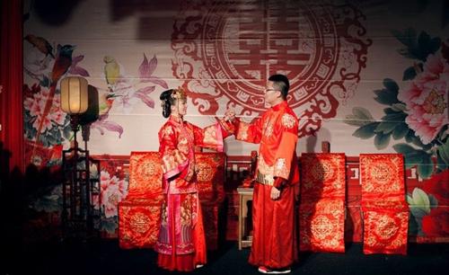新中式婚礼图片大全 新中式婚礼布置要点图片