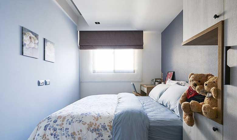 北欧风两居室儿童房图片大全