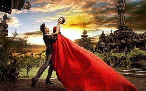 巴厘岛当地婚纱摄影多少钱