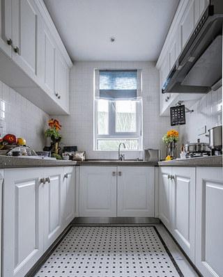 140平法式样板房装修整体厨房装修