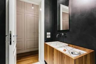 150㎡简约风格三居室卫生间图片大全