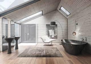 精美浴室设计装修效果图
